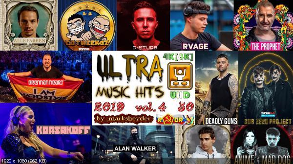 Сборник клипов - Ultra Music Hits Vol. 4 [30 Music videos] (2019) WEBRip 2160p, 4320p | UHD скачать торрентом