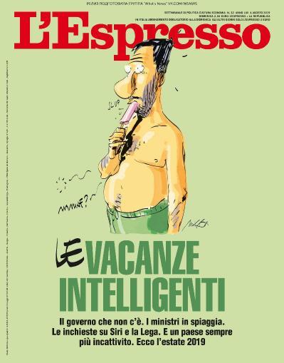 L ' Espresso   04 08 (2019)
