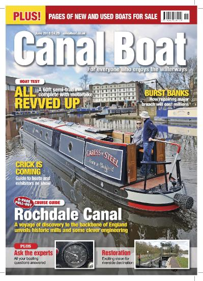 Canal Boat  June (2018)
