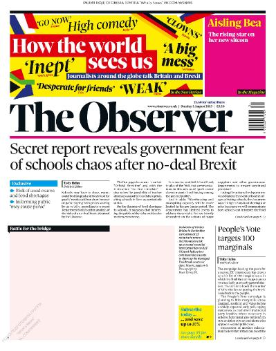 The Observer   04 08 (2019)