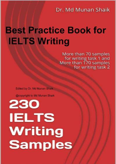 230 IELTS Writing S&les