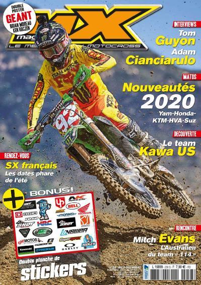 MX Magazine N 258  Juillet (2019)