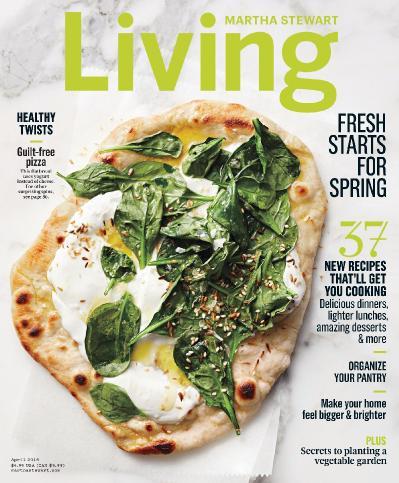 Martha Stewart Living   April (2016)