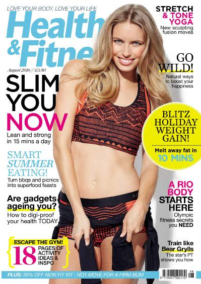 Health & & Fitness UK  August (2016)