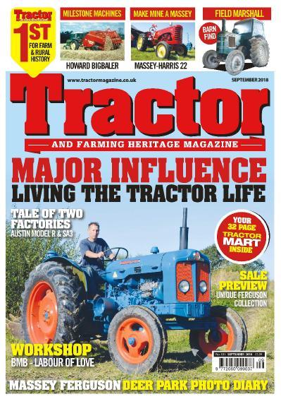 Tractor & & Farming Heritage Magazine  September (2018)