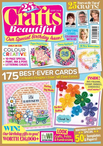 Crafts Beautiful  September (2018)