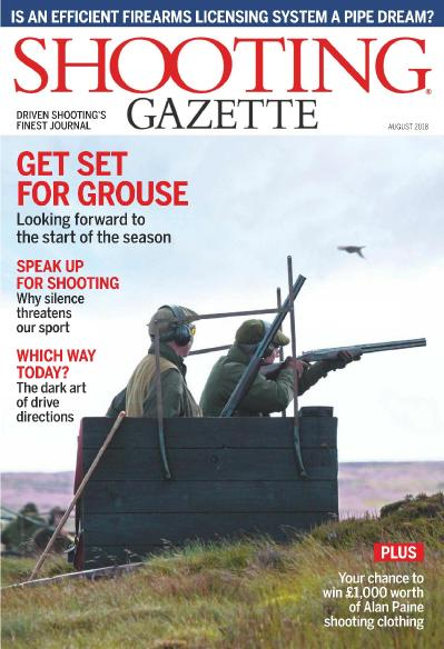 Shooting Gazette   August (2018)