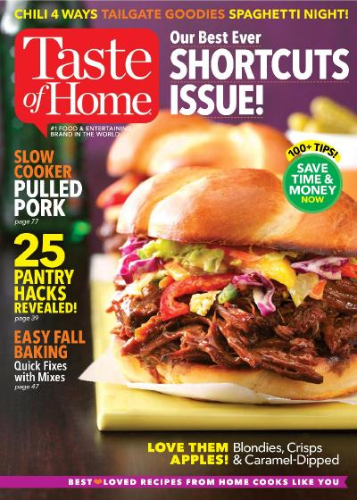 Taste of Home  September October (2017)