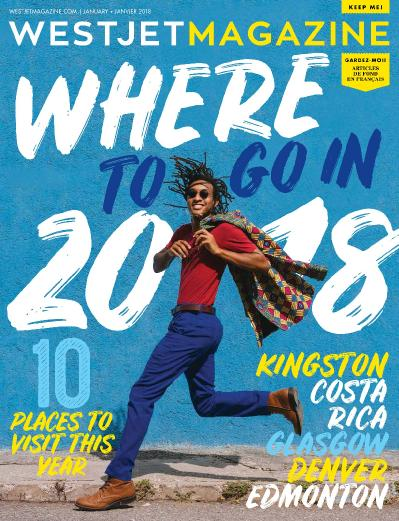 WestJet Magazine  January (2018)