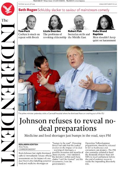 The Independent   20 08 (2019)