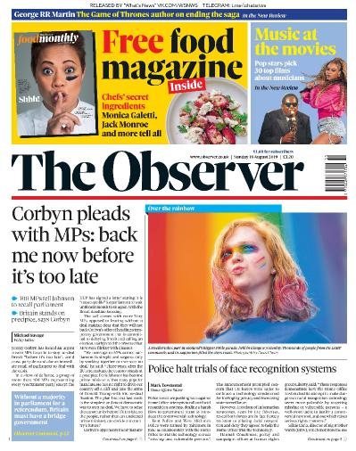 The Observer   18 08 (2019)