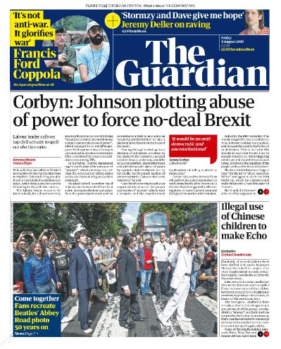 The Guardian   09 08 (2019)