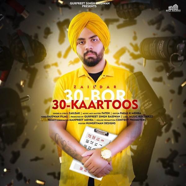 30 Bor 30 Kaartoos Ft Fateh (Punjabi (2019)) Zaildar