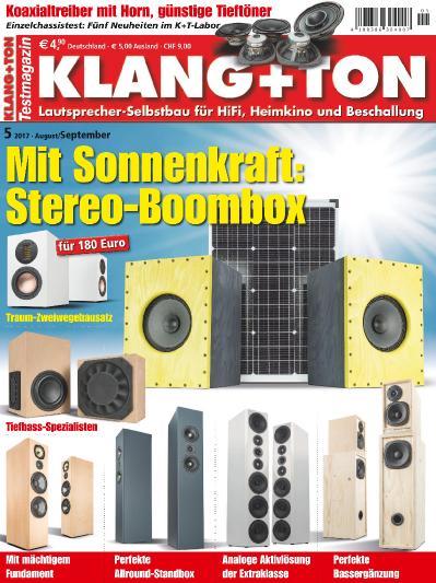 Klang & & Ton  August September (2017)