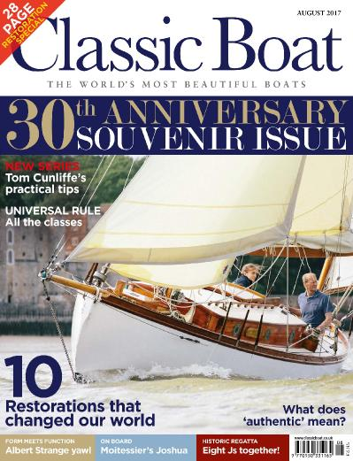 Classic Boat  August (2017)