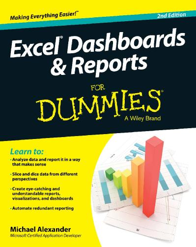 Excel Dashboards and Reports For Dummies 2nd edition
