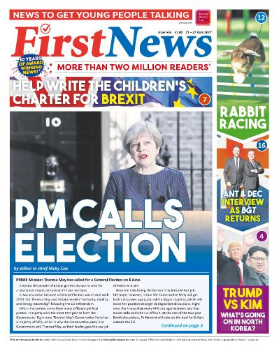 First News  21 27 April (2017)