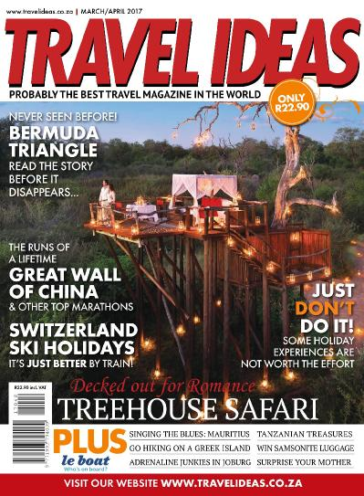 Travel Ideas  March April (2017)