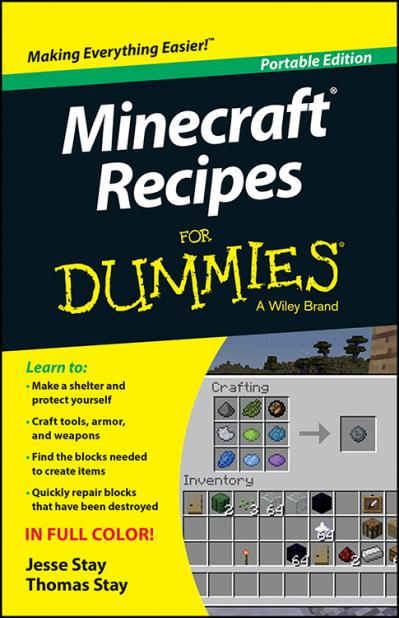 Minecraft Recipes for Dummies Portable Edition
