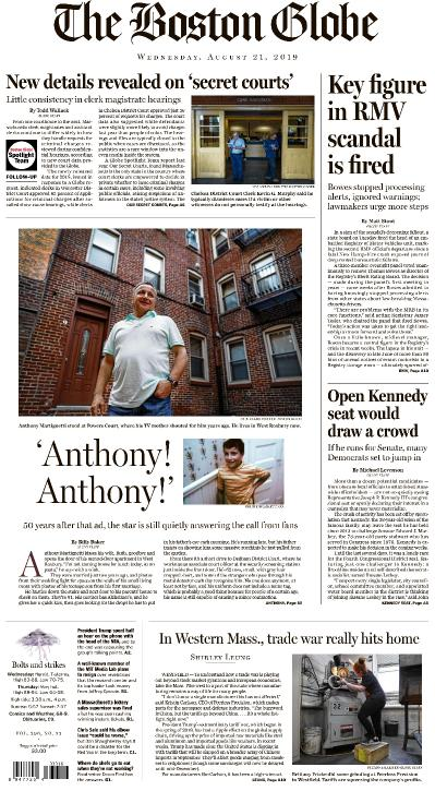 The Boston Globe - 21 08 (2019)