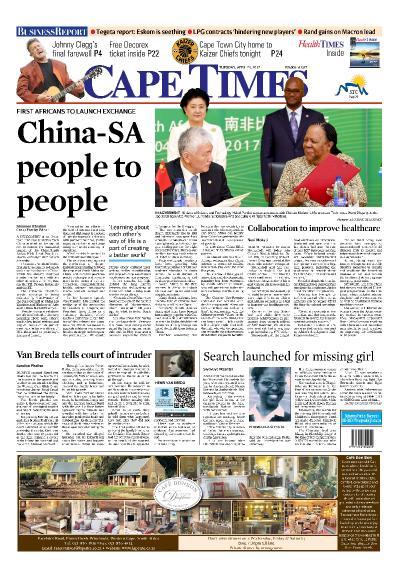 Cape Times  April 25 (2017)