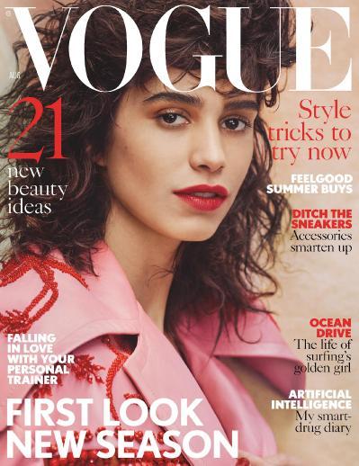 British Vogue  August (2017)