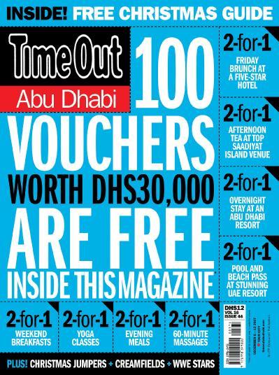 TimeOut Abu Dhabi  December 06 (2017)