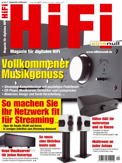 Hifi Einsnull Germany  September-Oktober (2017)