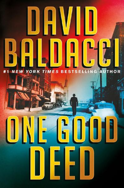 One Good Deed   David Baldacci