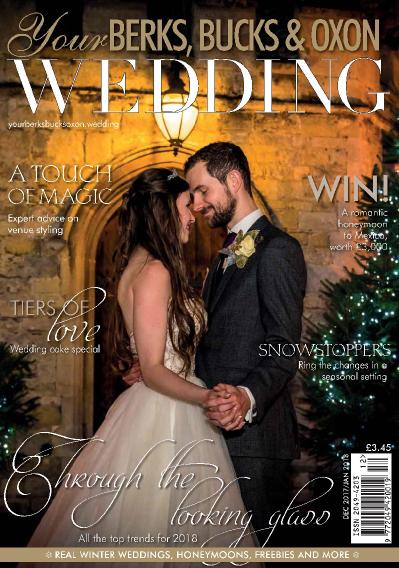 Your Berks Bucks & & Oxon Wedding  November 24 (2017)