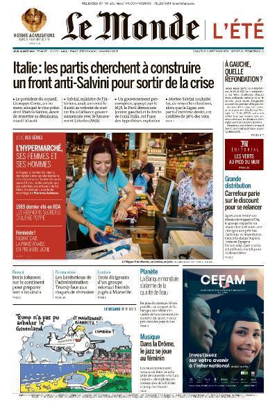 Le Monde - 22 08 (2019)
