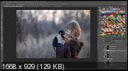 Текстуры в Photoshop. Как из простого фото сделать сказку (2019)