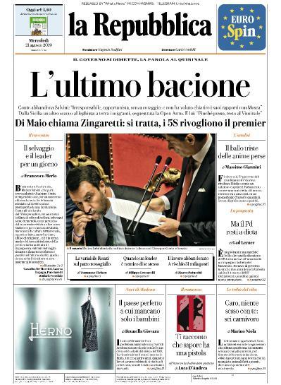 la Repubblica - 21 08 (2019)