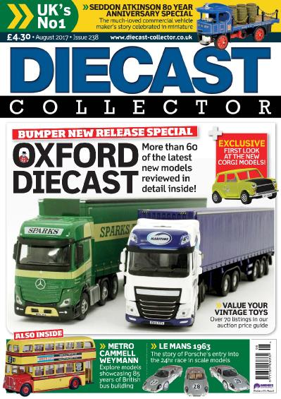 Diecast Collector  Issue 238  August (2017)
