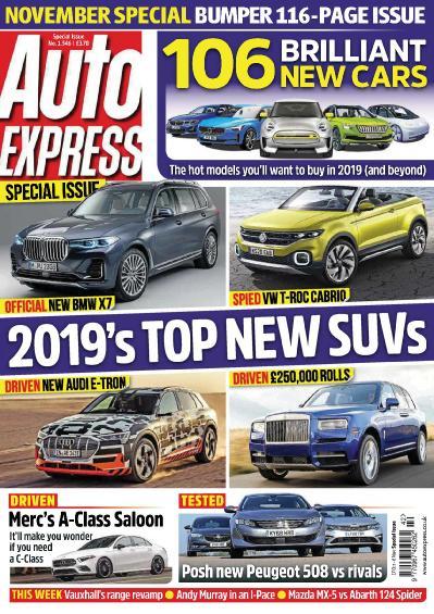 Auto Express - 16 October (2018)