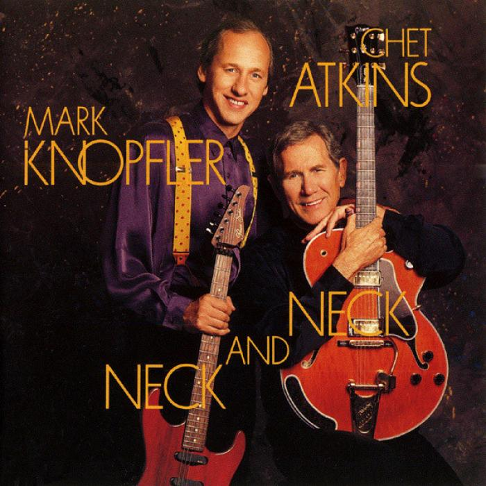 Mark Knopfler & Chet Atkins   Neck And Neck    A Must Have 10 Track Performance