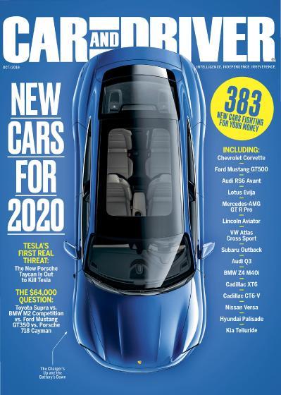 Car and Driver USA - October (2019)