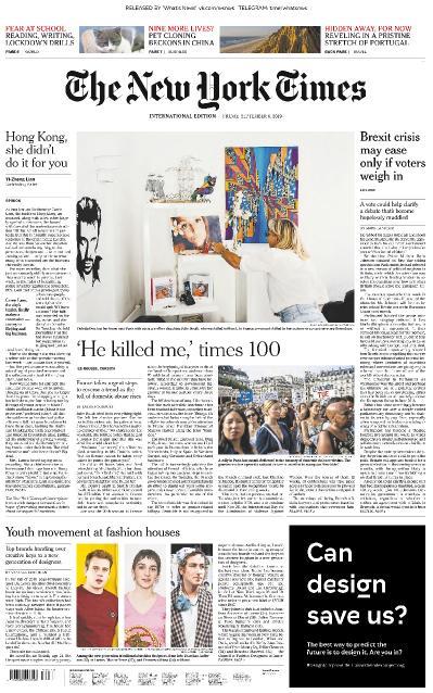 The New York Times International - 06 09 (2019)