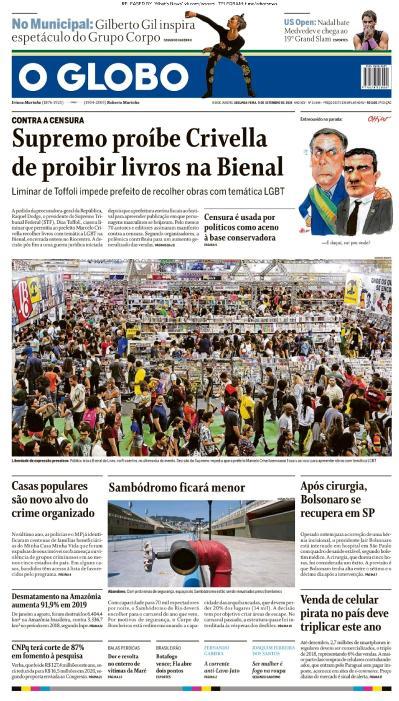 O Globo - 09 09 (2019)