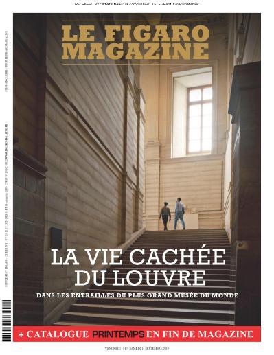Le Figaro Magazine - 13 09 (2019)