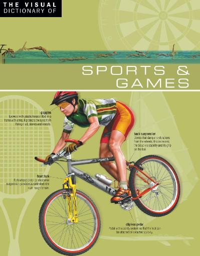 The Visual Dictionary of Sports & & Games