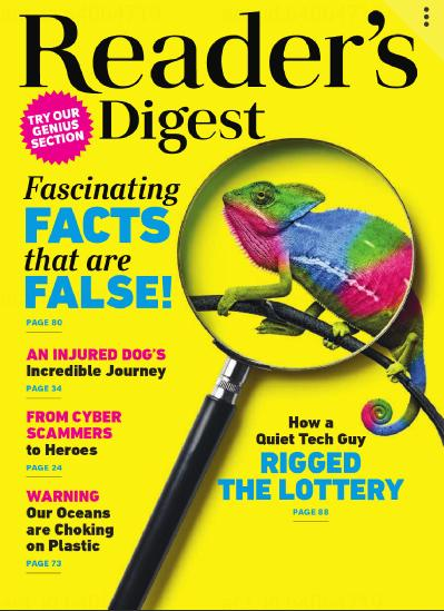 Reader s Digest Asia Pacific - October (2019)