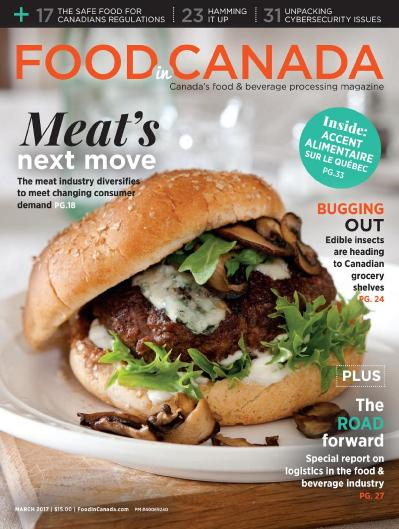 Food In Canada - March (2017)