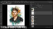 Обработка мужского портрета в стиле Dream Art (2019) FullHD