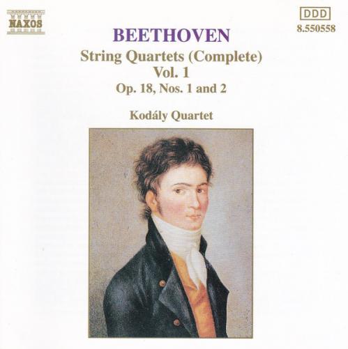 Beethoven String Quartets (Complete), Vol  1   Kodály Quartet   Naxos Release