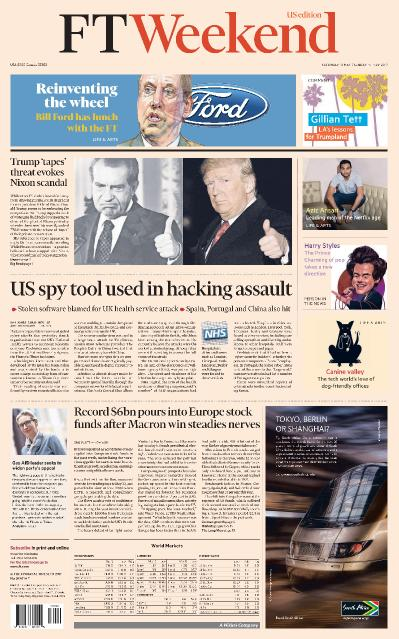 Financial Times USA  13 May (2017)