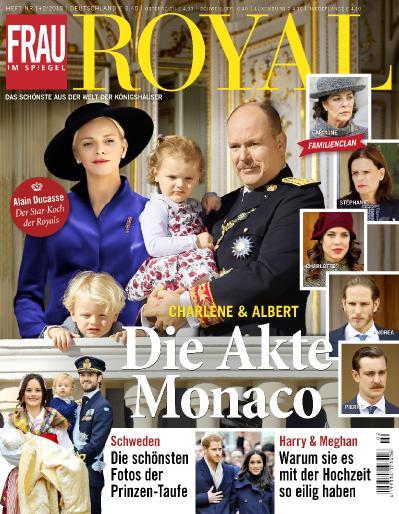 Frau im Spiegel Royal No 01 02  Januar Februar (2018)