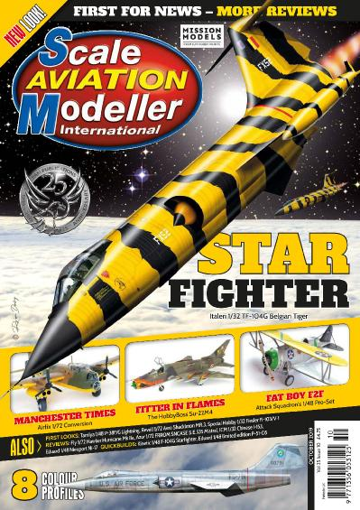 Scale Aviation Modeller International - October (2019)