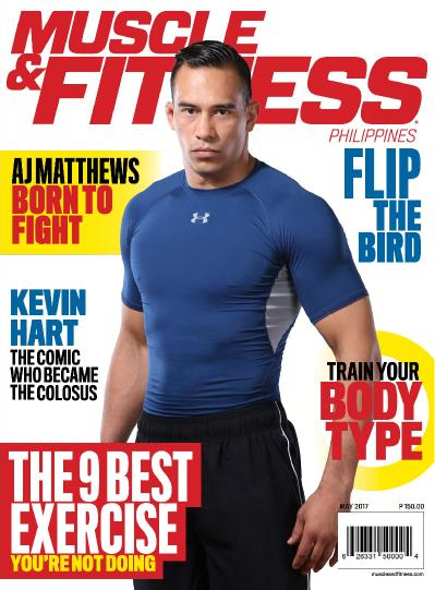 Muscle & & Fitness Philippines  May (2017)