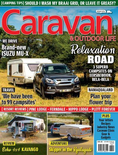 Caravan & & Outdoor Life - July (2018)